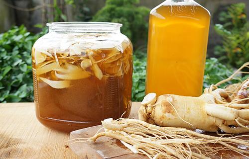 Nhân Sâm Tươi Hàn Quốc chọn loại 4 Củ/kg ngâm mật ong
